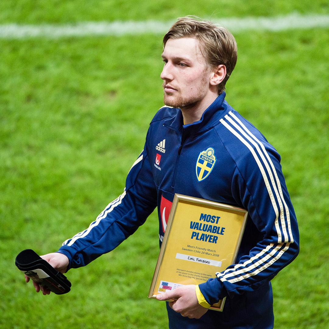Fotboll, Träningslandskamp, Sverige – Chile