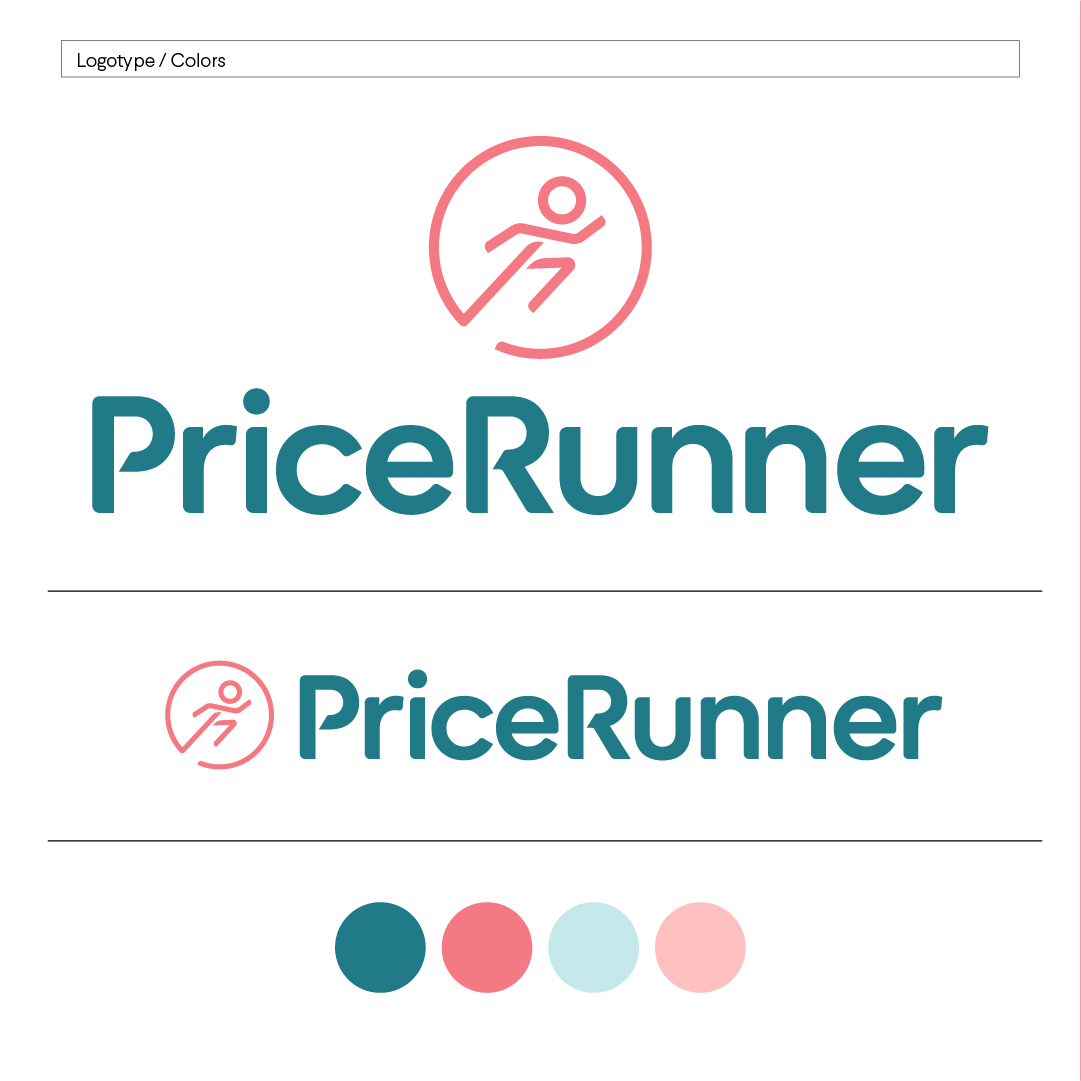 Pricerunner logo and colors
