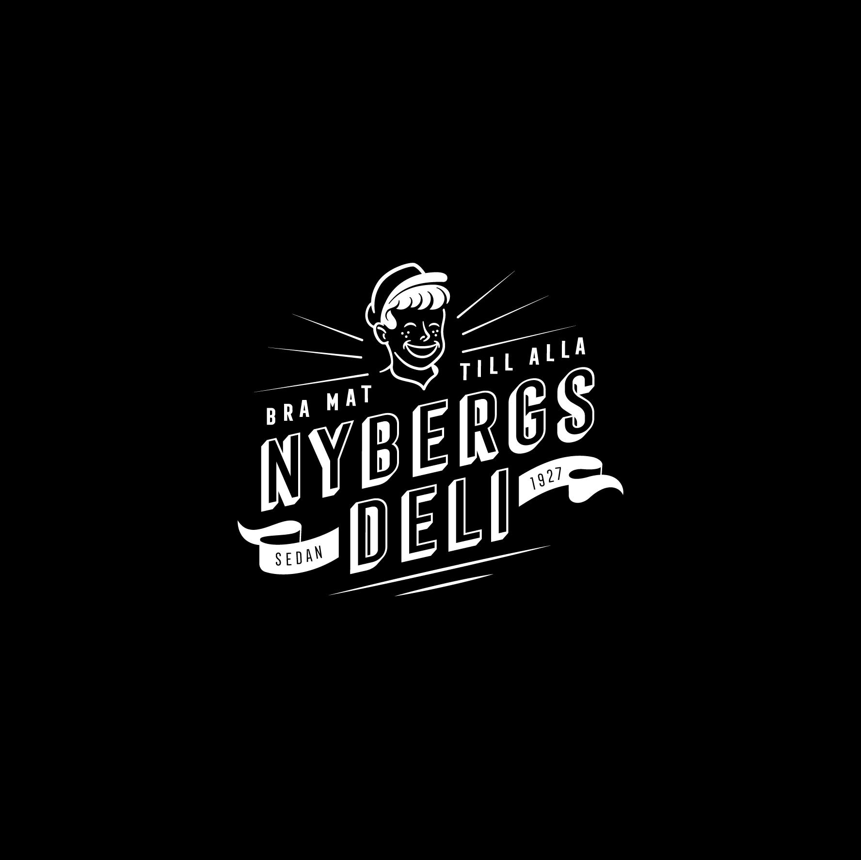 logo for Nybergs Deli