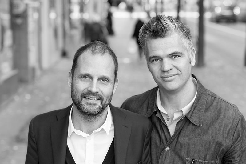 Ulf Berlin och André Hindersson
